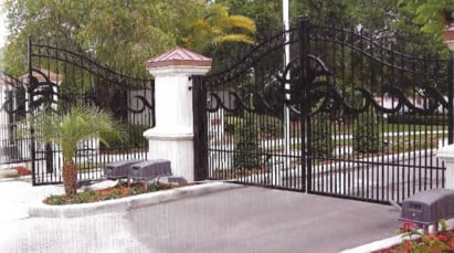 security electronics, gate access system