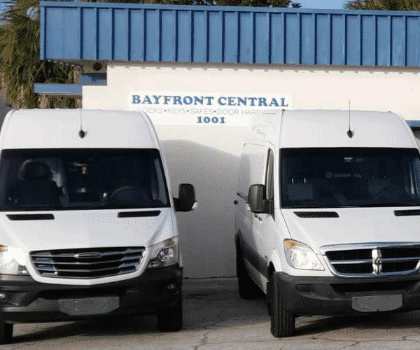 Bayfront Central Locksmith Trucks