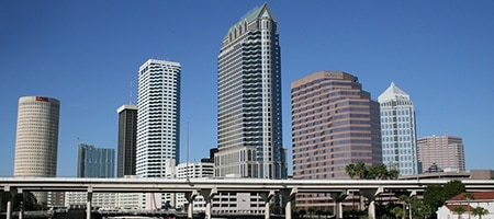 Commercial buildings in Tampa, FL